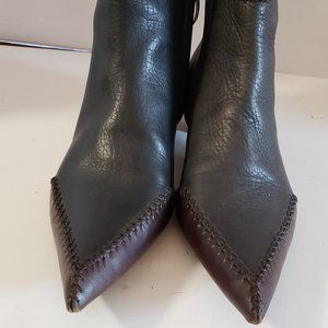 Alberto Guardiani Pointed Toe Boots * Like New *